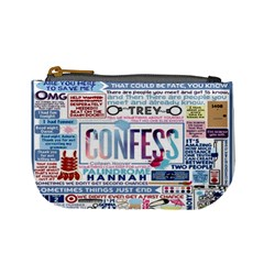 Book Collage Based On Confess Mini Coin Purses