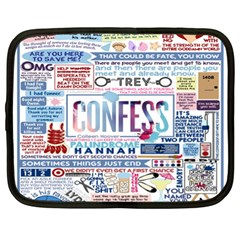 Book Collage Based On Confess Netbook Case (xl)