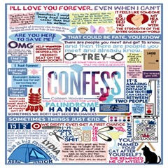 Book Collage Based On Confess Magic Photo Cubes
