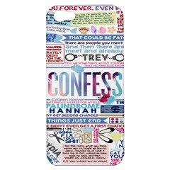 Book Collage Based On Confess Apple Iphone 5 Hardshell Case