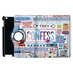 Book Collage Based On Confess Apple Ipad 2 Flip 360 Case