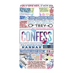 Book Collage Based On Confess Samsung Galaxy Note 3 N9005 Hardshell Back Case