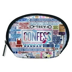 Book Collage Based On Confess Accessory Pouches (medium)