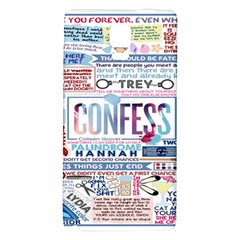 Book Collage Based On Confess Galaxy Note 4 Back Case