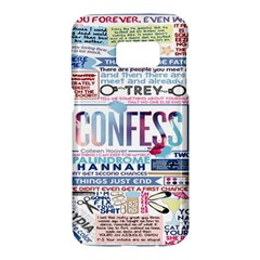 Book Collage Based On Confess Samsung Galaxy S7 Hardshell Case