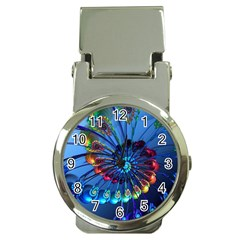 Top Peacock Feathers Money Clip Watches
