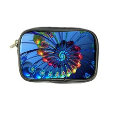 Top Peacock Feathers Coin Purse