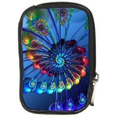 Top Peacock Feathers Compact Camera Cases