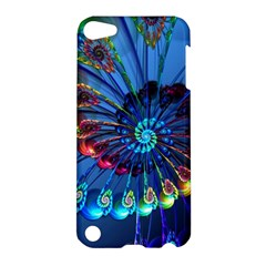 Top Peacock Feathers Apple Ipod Touch 5 Hardshell Case