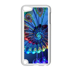 Top Peacock Feathers Apple Ipod Touch 5 Case (white)