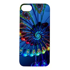 Top Peacock Feathers Apple Iphone 5s/ Se Hardshell Case