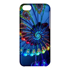 Top Peacock Feathers Apple Iphone 5c Hardshell Case