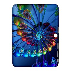 Top Peacock Feathers Samsung Galaxy Tab 4 (10 1 ) Hardshell Case