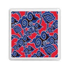 Batik Background Vector Memory Card Reader (square)