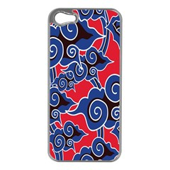 Batik Background Vector Apple Iphone 5 Case (silver)