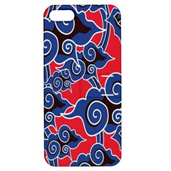 Batik Background Vector Apple Iphone 5 Hardshell Case With Stand