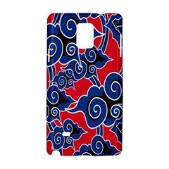 Batik Background Vector Samsung Galaxy Note 4 Hardshell Case