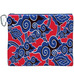 Batik Background Vector Canvas Cosmetic Bag (xxxl)