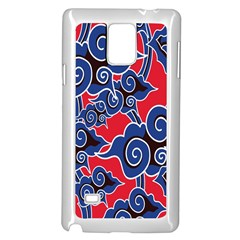Batik Background Vector Samsung Galaxy Note 4 Case (white)