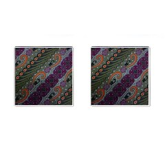 Batik Art Pattern  Cufflinks (square)