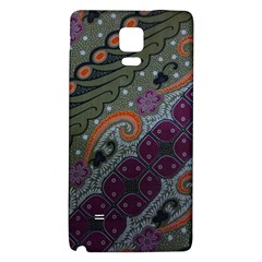 Batik Art Pattern  Galaxy Note 4 Back Case