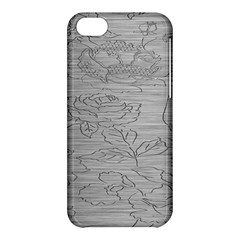 Embossed Rose Pattern Apple Iphone 5c Hardshell Case