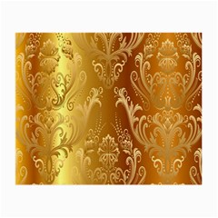 Golden Pattern Vintage Gradient Vector Small Glasses Cloth