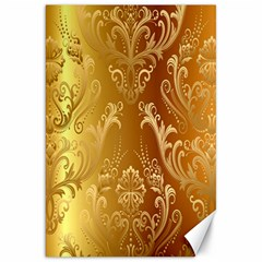 Golden Pattern Vintage Gradient Vector Canvas 20  X 30