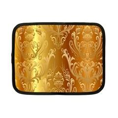 Golden Pattern Vintage Gradient Vector Netbook Case (small)