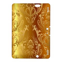 Golden Pattern Vintage Gradient Vector Kindle Fire Hdx 8 9  Hardshell Case