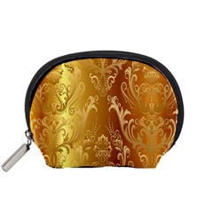 Golden Pattern Vintage Gradient Vector Accessory Pouches (small)