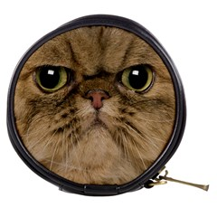 Cute Persian Catface In Closeup Mini Makeup Bags