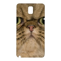 Cute Persian Catface In Closeup Samsung Galaxy Note 3 N9005 Hardshell Back Case