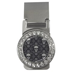 Dark Horror Skulls Pattern Money Clips (cz)