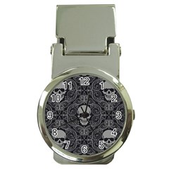 Dark Horror Skulls Pattern Money Clip Watches