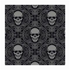 Dark Horror Skulls Pattern Medium Glasses Cloth