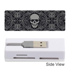 Dark Horror Skulls Pattern Memory Card Reader (stick)