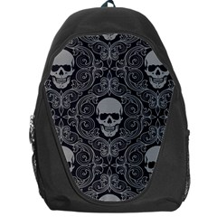 Dark Horror Skulls Pattern Backpack Bag