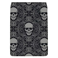 Dark Horror Skulls Pattern Flap Covers (l)