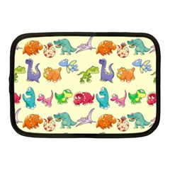 Group Of Funny Dinosaurs Graphic Netbook Case (medium)