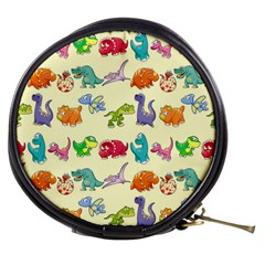 Group Of Funny Dinosaurs Graphic Mini Makeup Bags