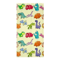 Group Of Funny Dinosaurs Graphic Shower Curtain 36  X 72  (stall)