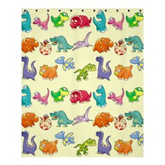 Group Of Funny Dinosaurs Graphic Shower Curtain 60  X 72  (medium)