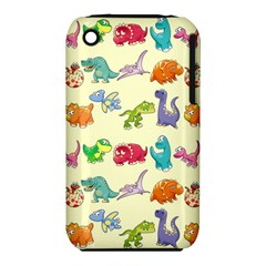 Group Of Funny Dinosaurs Graphic Iphone 3s/3gs