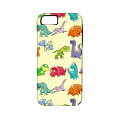 Group Of Funny Dinosaurs Graphic Apple Iphone 5 Classic Hardshell Case (pc+silicone)
