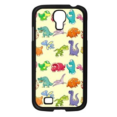 Group Of Funny Dinosaurs Graphic Samsung Galaxy S4 I9500/ I9505 Case (black)