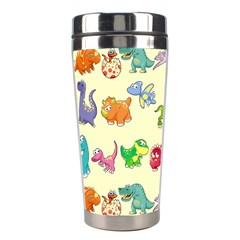 Group Of Funny Dinosaurs Graphic Stainless Steel Travel Tumblers