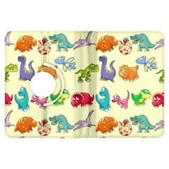 Group Of Funny Dinosaurs Graphic Kindle Fire Hdx Flip 360 Case