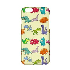 Group Of Funny Dinosaurs Graphic Apple Iphone 6/6s Hardshell Case