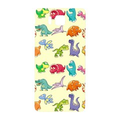 Group Of Funny Dinosaurs Graphic Samsung Galaxy Alpha Hardshell Back Case